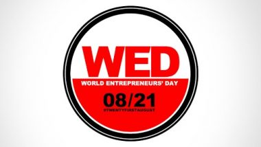 World Entrepreneurs' Day 2020: Celebrating Entrepreneurship, Innovation and Leadership by Spreading Awareness