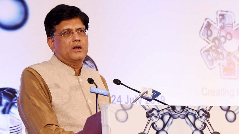 Piyush Goyal Says 'Futuristic Vision Combined With Decisiveness Has Provided India a Solid Startup Ecosystem'