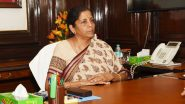 India's Economic Growth in FY21 May Be Negative or Near Zero Due to Ongoing Coronavirus Pandemic, Says Nirmala Sitharaman