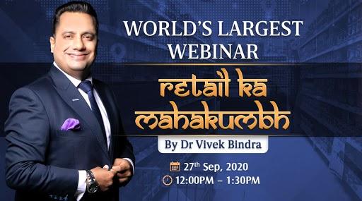 Bada Business 'Retail Ka Mahakumbh' 2020: Dr Vivek Bindra to Share Business Expansion Strategies During World's Largest Webinar on September 27