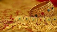 Gold Rate Today: Price of Yellow Metal Down at Rs 51,100 Per 10 Gram, Silver Slips to Rs 62,847 Per Kg