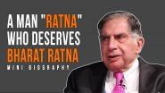 As the campaign Bharat Ratna for Ratan Tata Trends on Twitter, millions of Netizens Joined In!