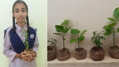A Step towards Greener Planet: How this 14-Year Old Telangana Girl found a natural alternative to plastic!