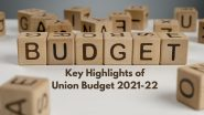 Union Budget 2021 Highlights: The 5 Big Takeaways.