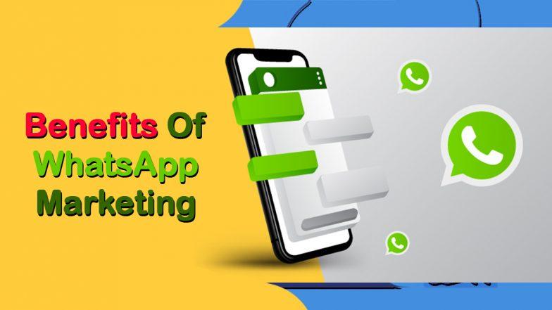 Benefits Of WhatsApp Marketing: इस तरह से WhatsApp Marketing से मिल सकती है आपके बिज़नेस और सेल्स को ऊंची उड़ान