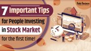 7 Important Tips For People Investing In Stock Market For The First Time!