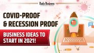 Covid-Proof & Recession Proof Business Ideas To Start In 2021!