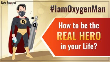 #IamOxygenMan: How To Be The Real HERO In Your Life?