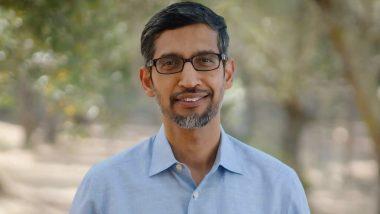 Google CEO Sundar Pichai: दुनिया में सबसे ज्यादा सैलरी पाने वाले सुंदर पिचाई हर उद्यमी के लिए है प्रेरणा स्रोत, ऐसा है कामयाबी का सफर