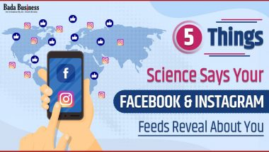 5 Things Science Says Your Facebook & Instagram Feeds Reveal About You!