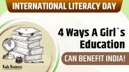 International Literacy Day: 4 Ways A Girl`s Education Can Benefit India!